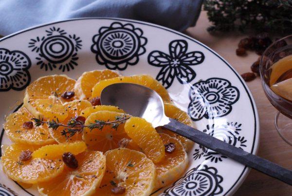 salade d'oranges - zoom