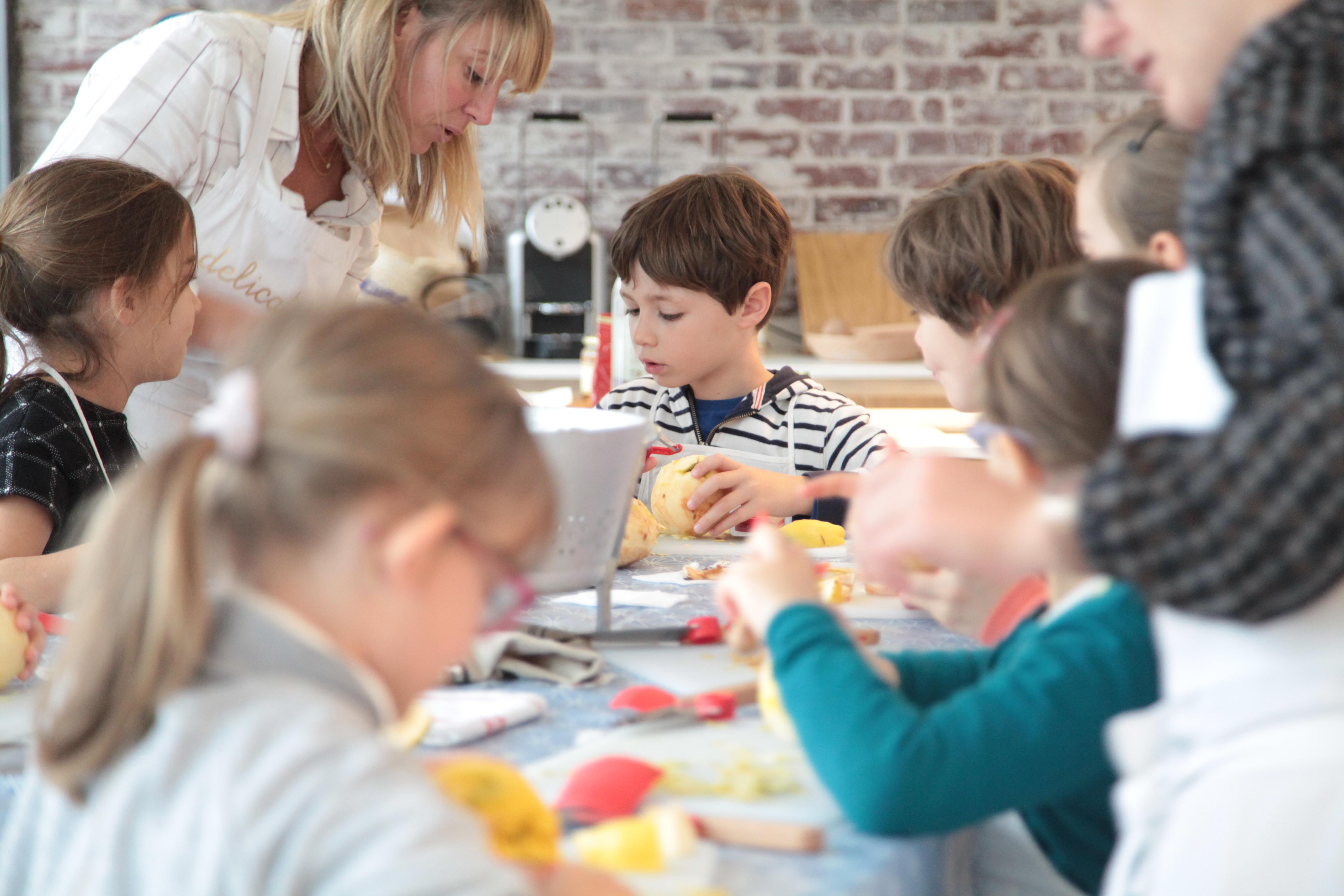 Vacances de la Toussaint : stage de cuisine pour les enfants (6-10 ans)